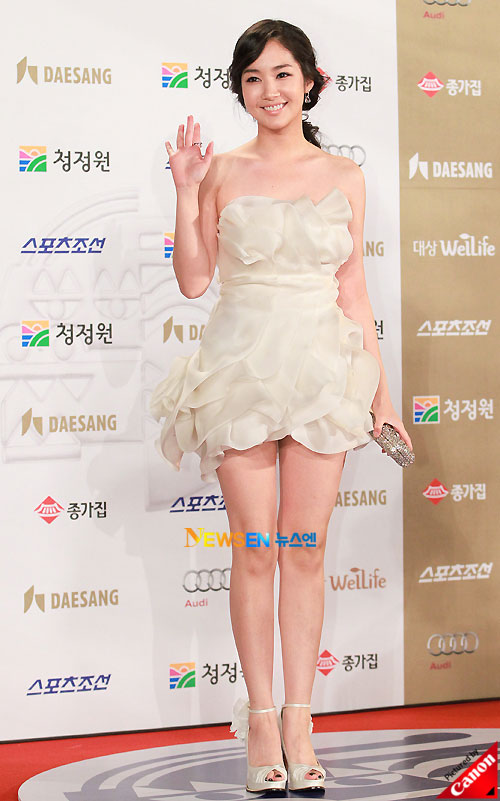 Park Min-young at Blue Dragon Awards 2010