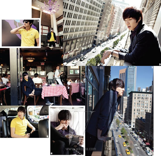 Lee Min-ho Korean W Magazine