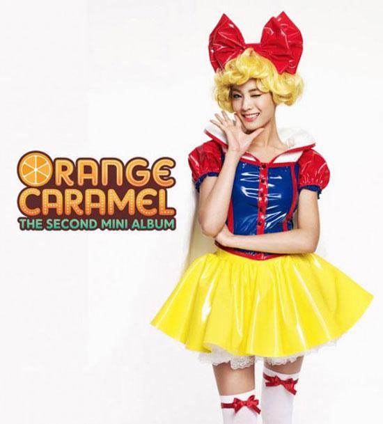 Orange Caramel Nana Aing