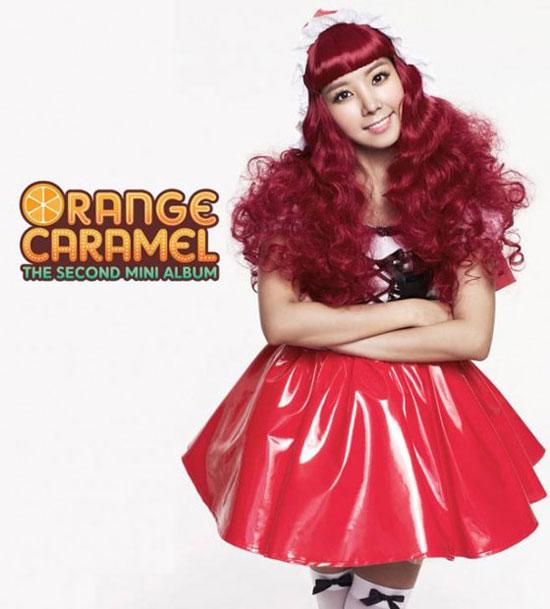 Orange Caramel Raina Aing