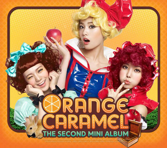Orange Caramel Aing concept photo