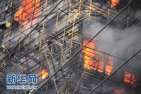 Shanghai high rise apartment fire escape