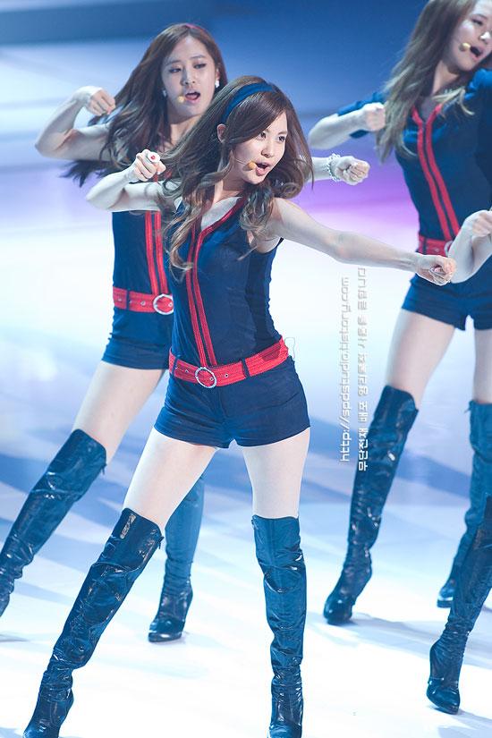 SNSD Seohyun at G20 Seoul concert
