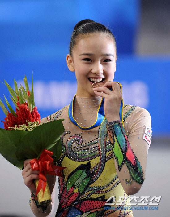 Korean gymnast Son Yeon-jae Asian Games
