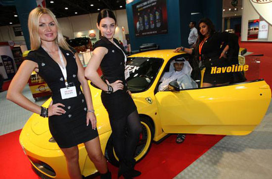 Ferrari F430 at Abu Dhabi International Motor Show 2010
