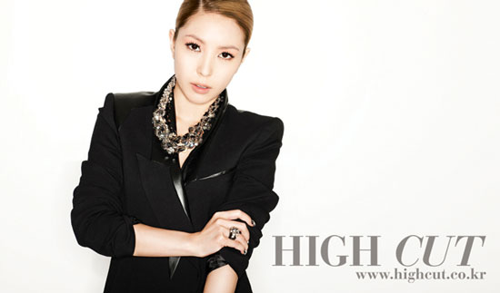 BoA on High Cut magazine