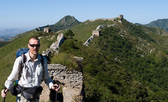 Robert Loken Great Wall of China walk