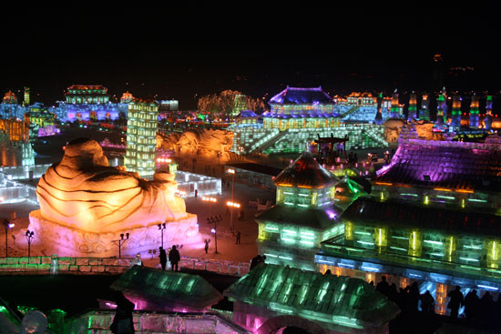 Harbin International Snow and Ice Festivals, China