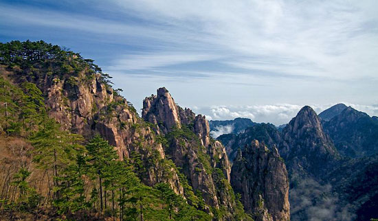 Landscape of Mount Huangshan, China