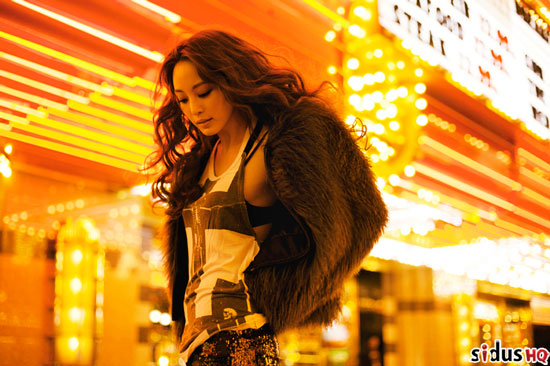 Han Ye-seul in Las Vegas