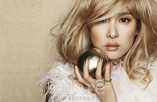 Jo Yeo-jung on Allure magazine