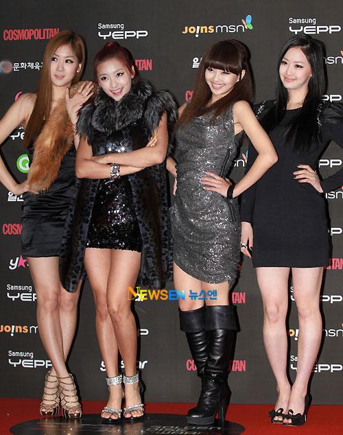 Sistar at Golden Disk Award 2010