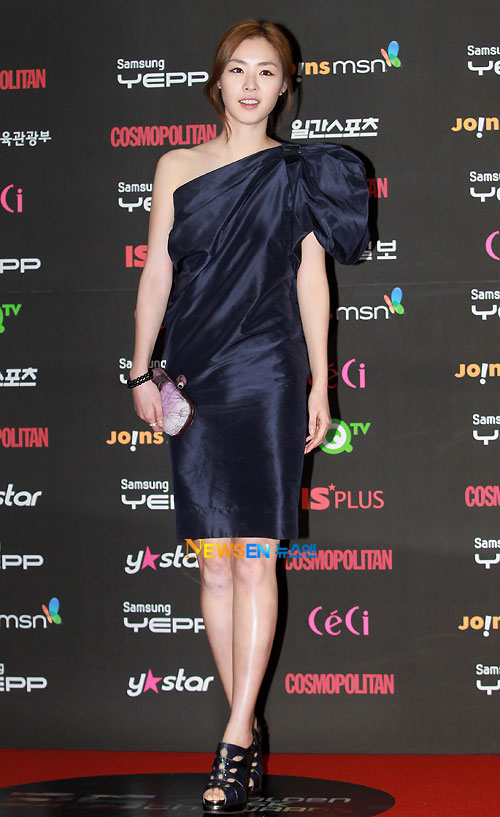 Lee Yeon-hee at Golden Disk Award 2010