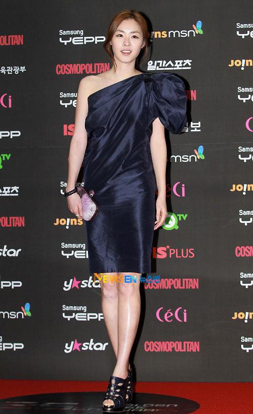 Lee Yeon-hee at Golden Disk Award 2010