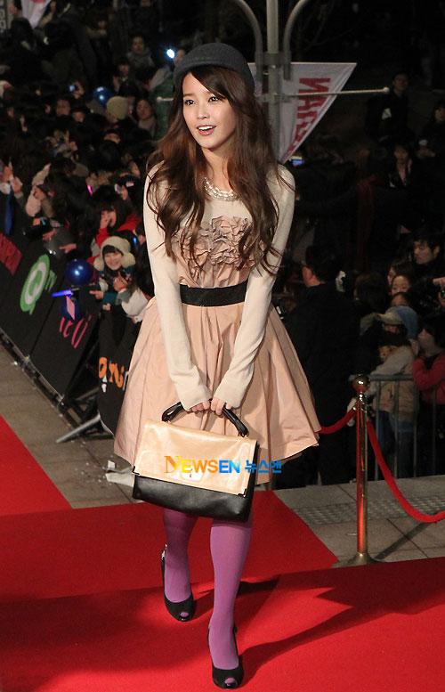 IU at Golden Disk Award 2010