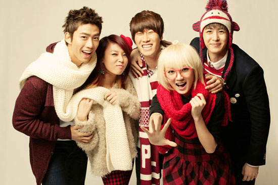 JYP Nation Christmas photo