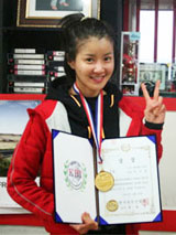 Lee Si-young wins boxing tournament