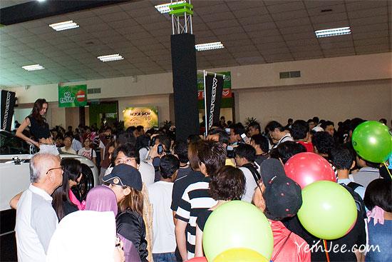 Huge crowd at KLIMS 2010