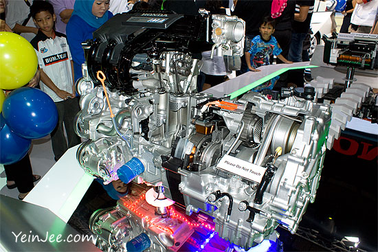 Honda engine at KLIMS 2010