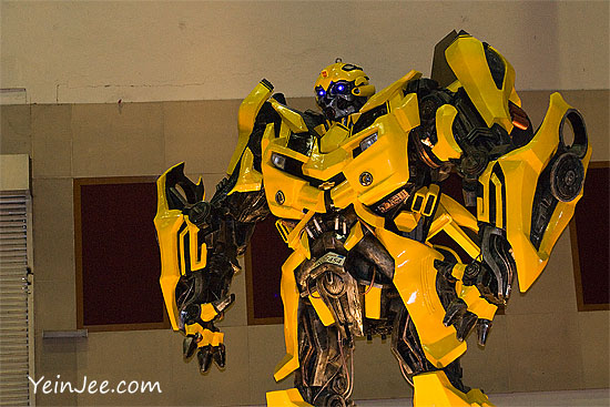 Transformers Bumblebee at KLIMS 2010