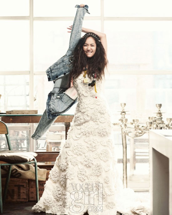 Park Min-young Vogue Girl Magazine