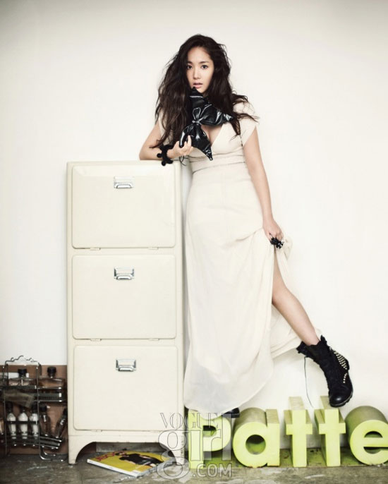Park Min-young on Vogue Girl Magazine