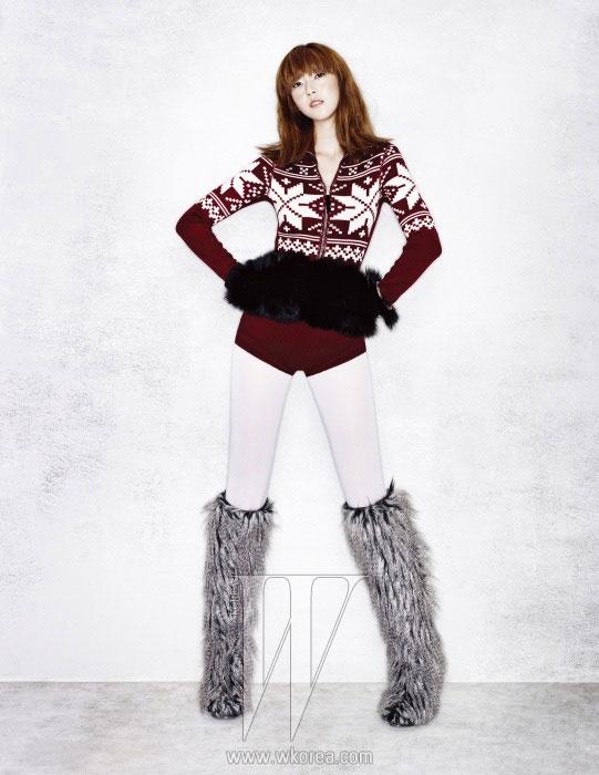 Girls Generation Jessica W Korea magazine