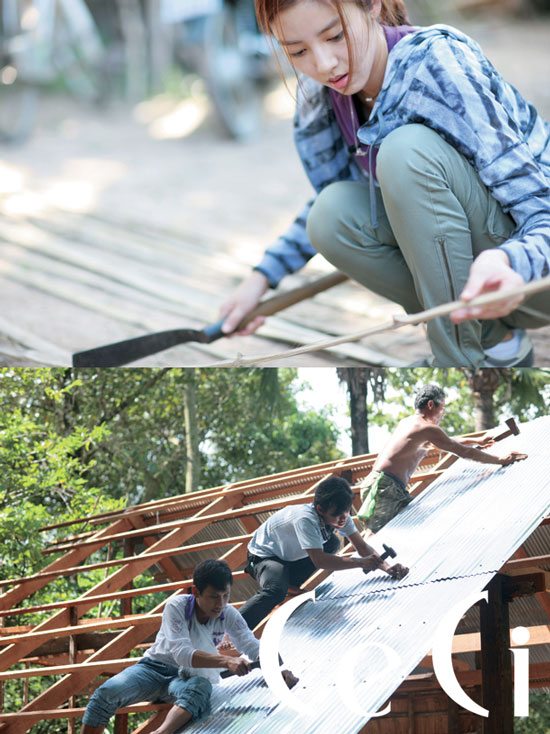 Son Dambi shares love in Cambodia