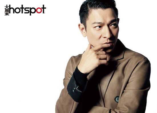 Andy Lau on Chinese Hotspot magazine