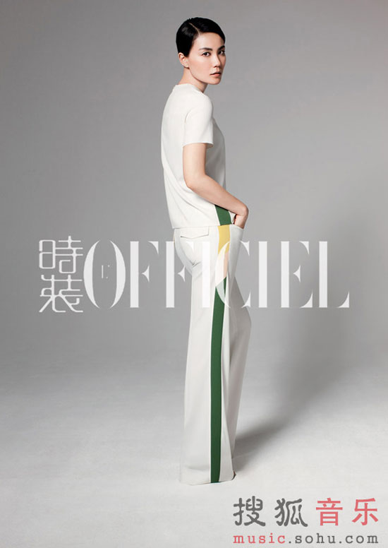Faye Wong on L Officiel magazine