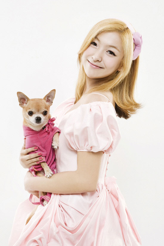 f(x) Luna Legally Blonde musical