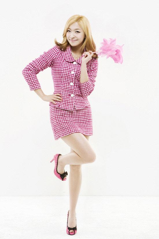 f(x) Luna Legally Blonde musical
