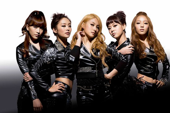 Korean girl group KARA