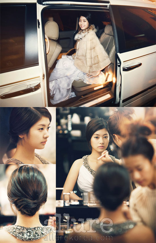 Korean actress Jung So-min Allure moment