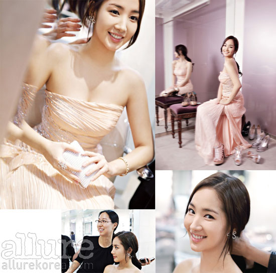 Korean actress Park Min-young Allure moment