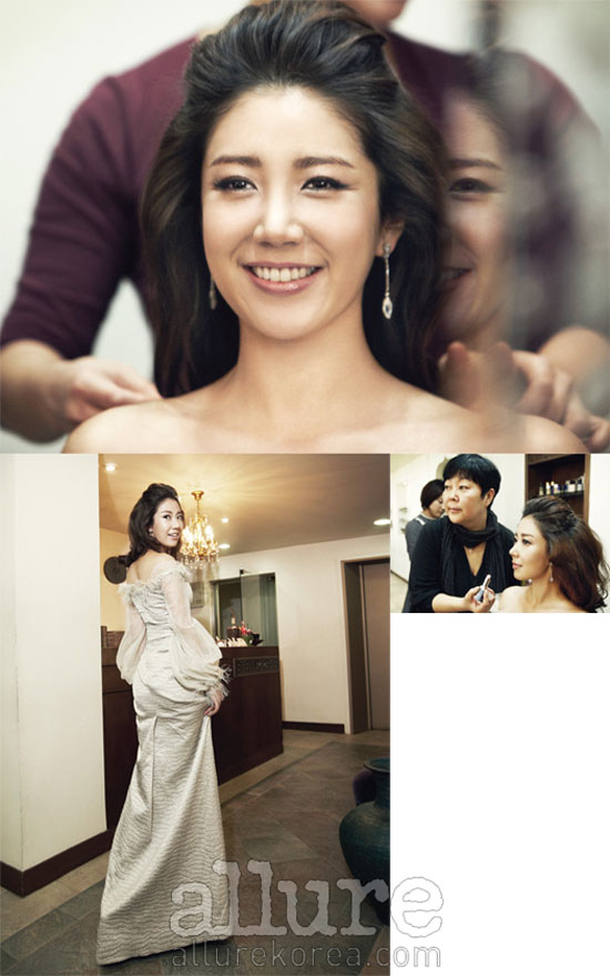 Korean actress Yoo Ho-jeong Allure moment