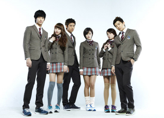 Korean drama series Dream High