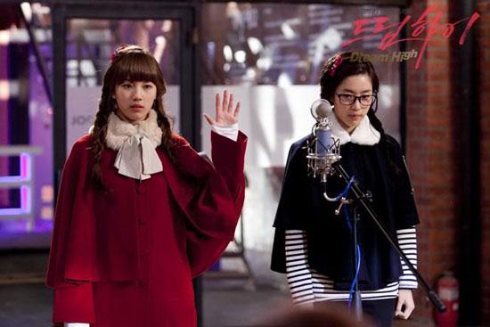 T-ara Eunjung Korean drama Dream High