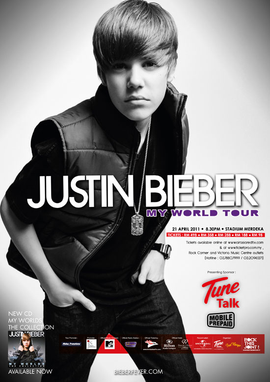 Justin Bieber Fever in Malaysia 2011 concert