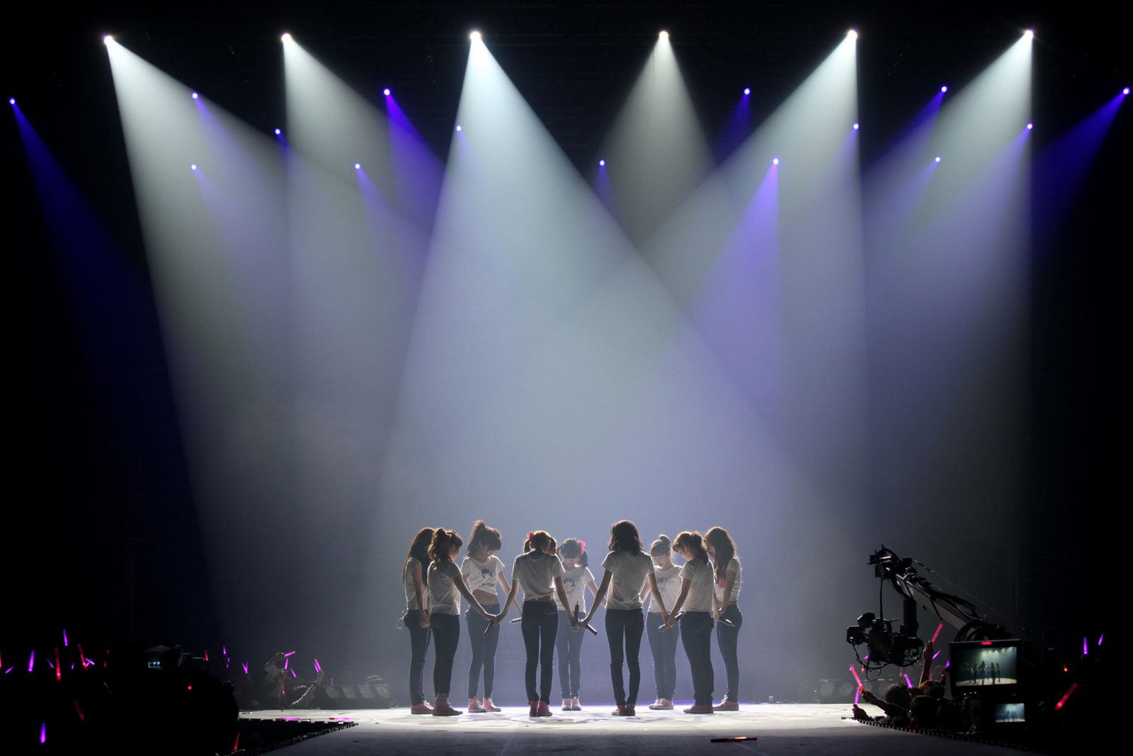 Girls Generation Into The New World concert