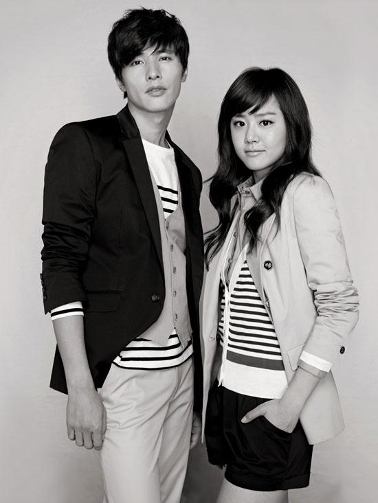 Won Bin and Moon Geun-young for Basic House