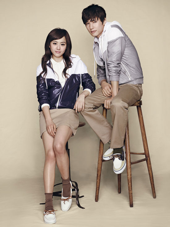 Won Bin and Moon Geun-young for Basic House