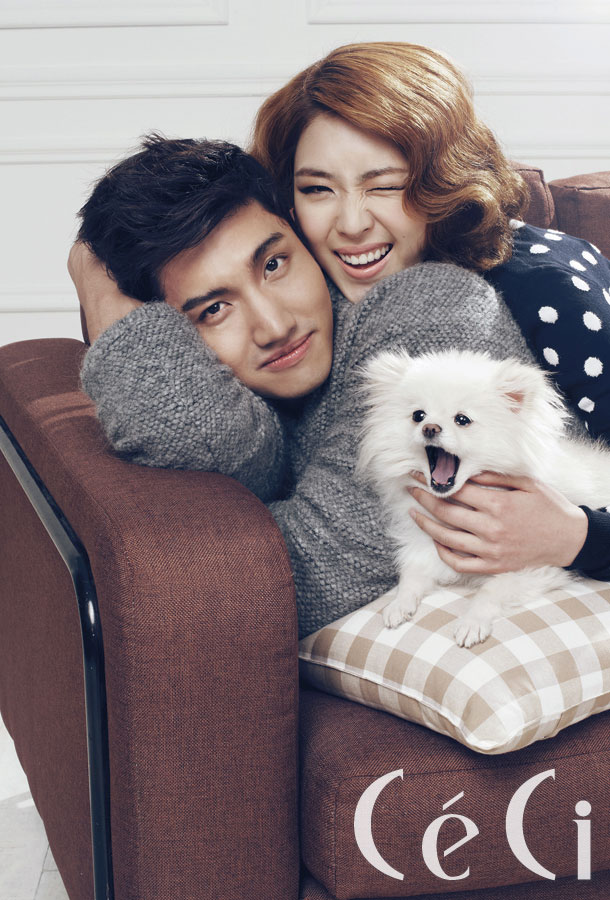 Max Changmin and Lee Yeonhee Ceci Magazine