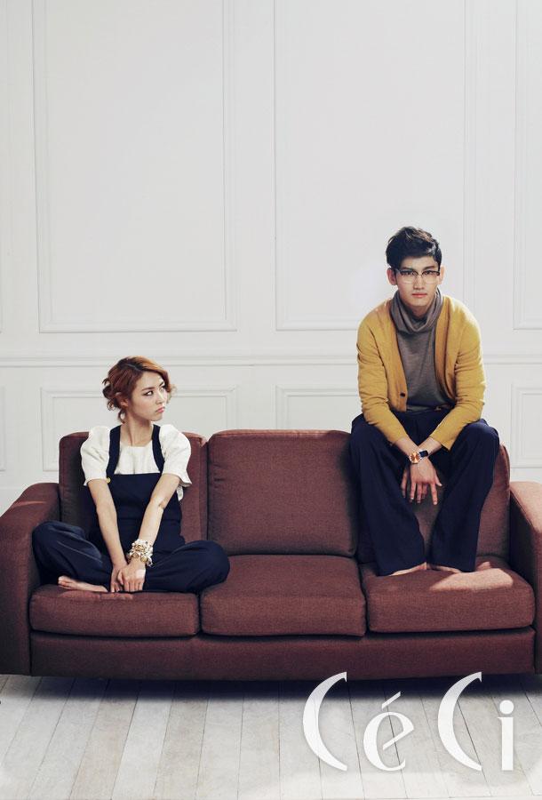 Max Changmin and Lee Yeonhee Ceci Magazine