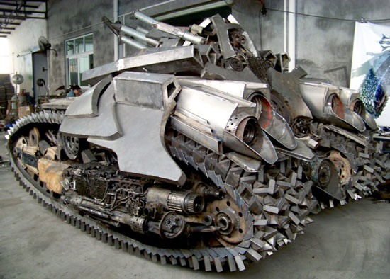 China Megatron Tank replica