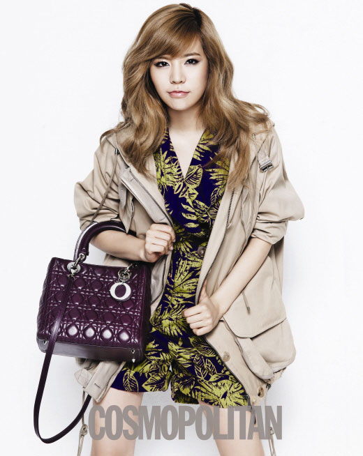Girls Generation Sunny on Cosmopolitan with Lady Dior