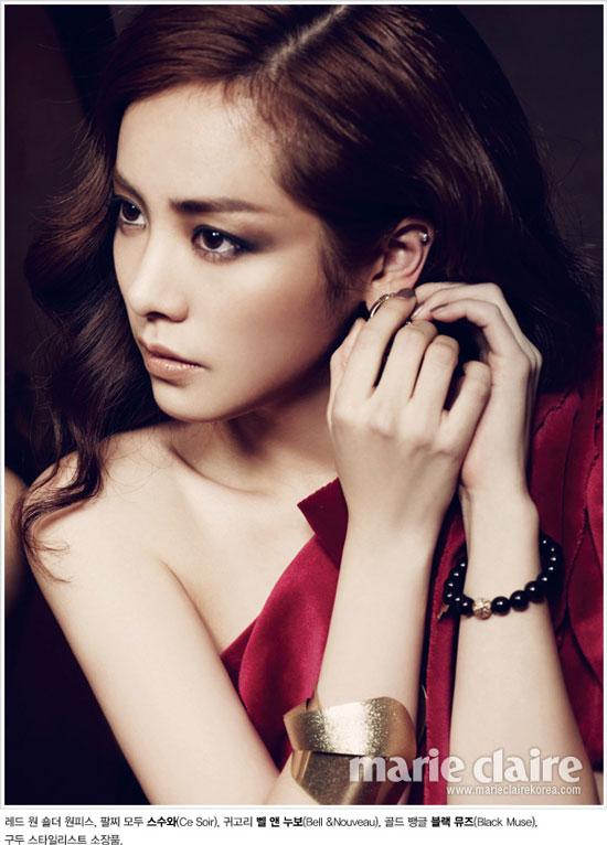 Han Ji-min Marie Claire Korea