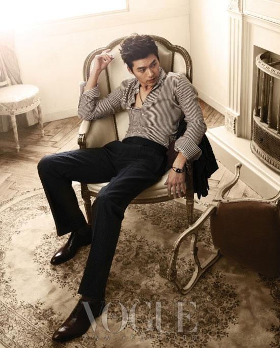 Hyun Bin on Vogue magazine