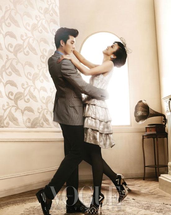 Hyun Bin and Tang Wei on Vogue magazine