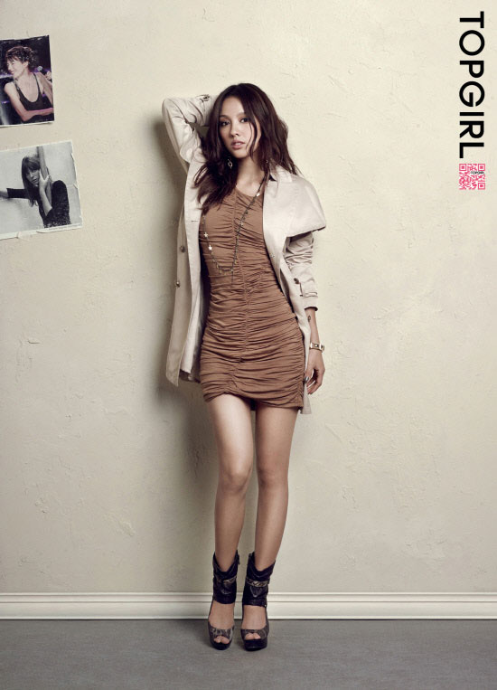 Lee Hyori Top Girl fashion